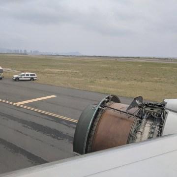 Image: United Flight 1175 engine