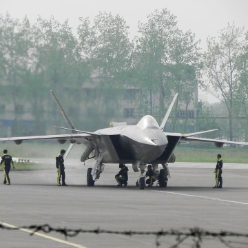 Image: China's J-20 stealth fighter aircraft