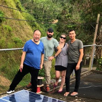 Image: Ai Weiwei, Justin Brice Guariglia, Jennifer Bolstad and Walter Meyer