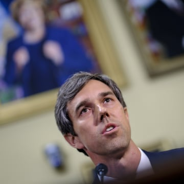 Image: Rep. Beto O'Rourke, D-Texas, offers an amendment to the National Defense Authorization Act