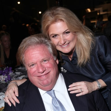 """Image: Elliott Broidy and Robin Broidy attend as American Ballet Theater celebrates """"Stars Under the Stars,"""" a benefit evening at the home of Jeanne & Anthony Pritzker in Beverly Hills, California, on Sep. 6, 2012."""
