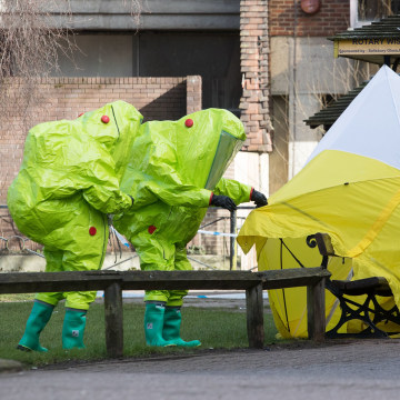 Image: Counter-terror Police Take Charge Of Suspected Poisoning Case