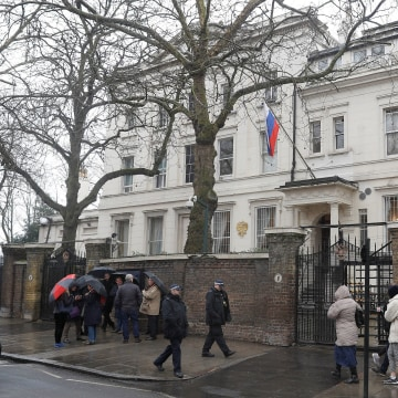 Image: Russian embassy in London