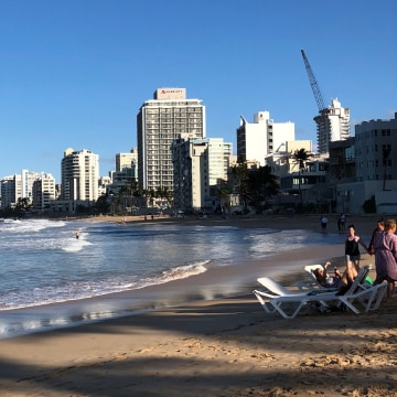 Image: A beach in San Juan
