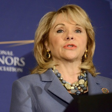 Image: File photo of Oklahoma Republican Governor Mary Fallin