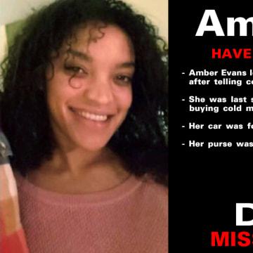 Image: Amber Evans Missing Poster