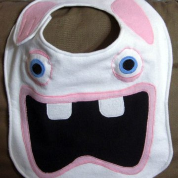 Raving Rabbids bib
