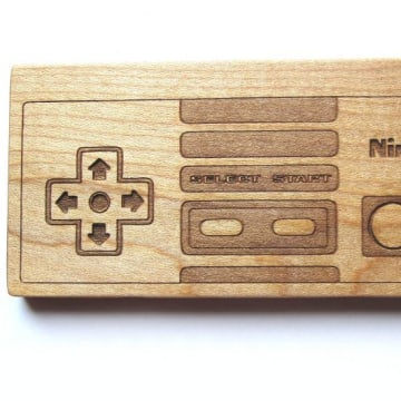 Ninteeth wooden teether