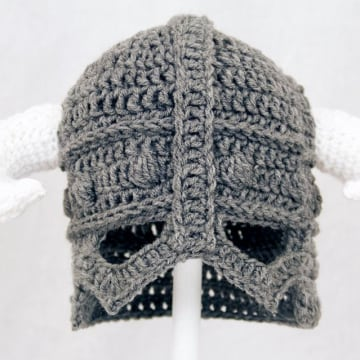 Skyrim baby helmet hat