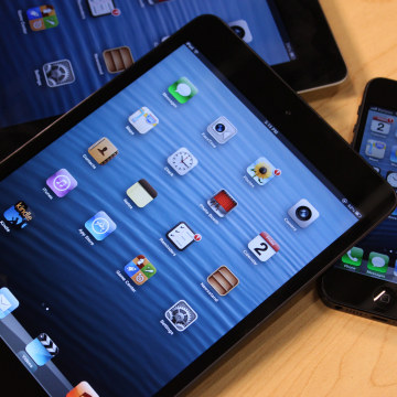 iPad Mini with iPhone and iPad