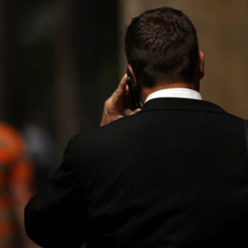 Man on cellphone