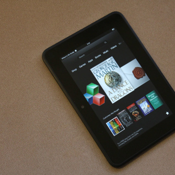 Amazon's 7-inch Kindle Fire HD