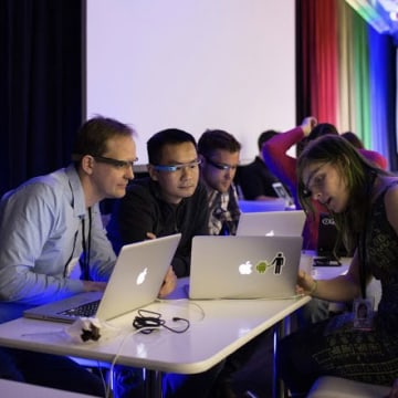 Google's Glass Foundry developer event