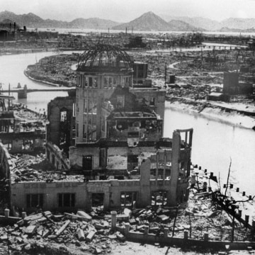 hiroshima literary devices Best answer: it is an example of irony and symbolism  you could also make a case for the books being a metaphor for the bomb but i would tend to think just the opposite the bomb was just a mindless device that came down and killed without thinking, whereas the books represent knowledge.