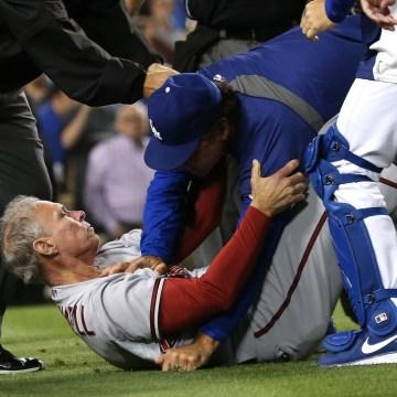Image: Dodgers-Diamondbacks brawl