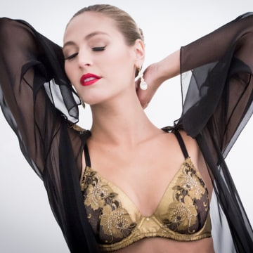 Designed with 24-karat-gold thread, an ultraluxe lingerie line has entered the vast intimate apparel market to fill a void in the underwear drawers of the elite.