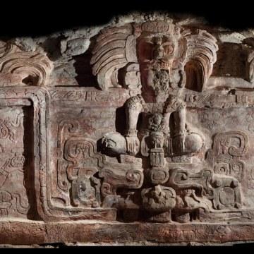 Image: Maya frieze
