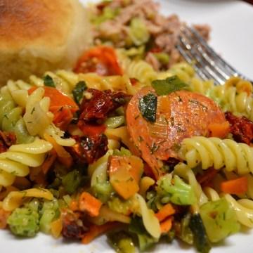 Image: Lemon dill pasta salad