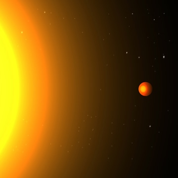 Image: Hot Earth-sized planet