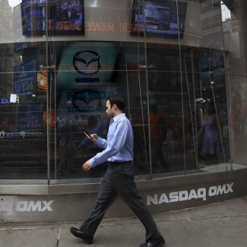 Movement on the outside, but not much happening on the inside. All trading on Nasdaq, the second-biggest U.S. stock exchange, was halted on Thursday s...