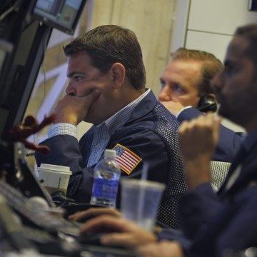 Investors were jittery Tuesday amid concerns over an escalating conflict in Syria. The Dow shed over 100 points after dropping sharply in the last hou...