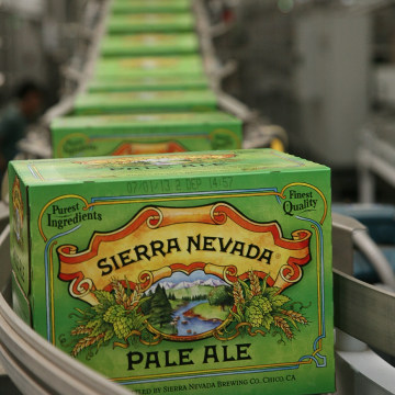Image of Sierra Nevada packaging line