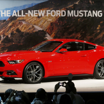 The New Mustang Contemporary Interpretation Of A Classic NBC News - Cool car tags