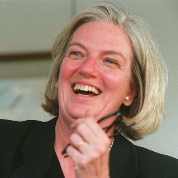 Marjorie Scardino is the first woman to be named to Twitter's board of directors.