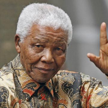Remembering Mandela - Magazine cover