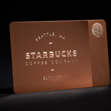 Starbucks 450 holiday gift cards sell out in a flash for Starbucks business cards
