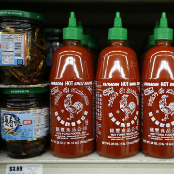 The maker of Sriracha hot chili sauce says it can't ship more of the sauce until mid-January because of California health department rules.