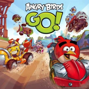 """""""Angry Birds Go!"""" brings Rovio's iconic characters into the kart racing genre."""