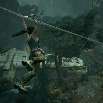 "Square Enix and Crystal Dynamics rebooted the ""Tomb Raider"" franchise in 2013."