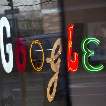 IMAGE: Google sign T