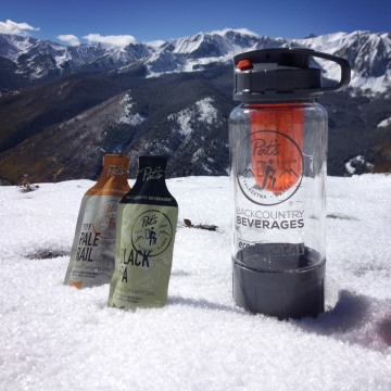 Beer concentrate from Pat's Backcountry Beverages