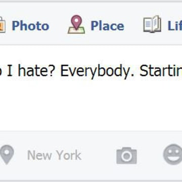 Sometimes, people post things they regret on Facebook.