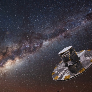 Gaia telescope helped to find traces of the ancient mergers of the Milky Way 3