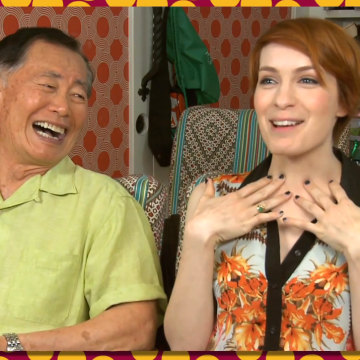 Felicia Day recently introduced George Takei to video games for the first time, and the results are glorious to behold.
