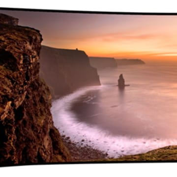 IMAGE: Samsung 105-inch Curved UHD TV