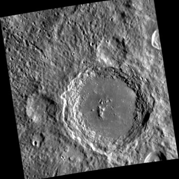 IMAGE: Mercury's Lennon crater, named for Beatle John Lennon