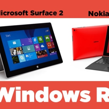 IMAGE: Microsoft Surface 2, Lumia 2520