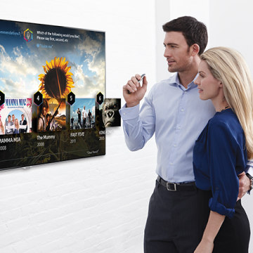 Samsung will premiere its new line of smart TVs in 2014.