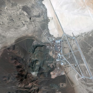 AREA 51, SOUTHERN NEVADA, UNITED STATES