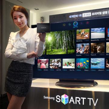 "Samsung's ""evolution kit"" for Smart TV"