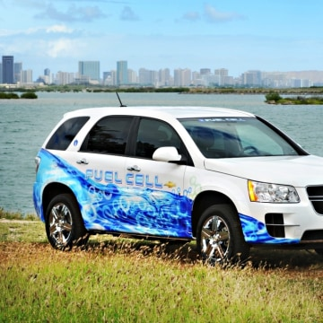 Image: GM'shydrogen-powered Equinox prototype