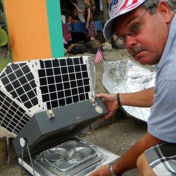 Solar frier