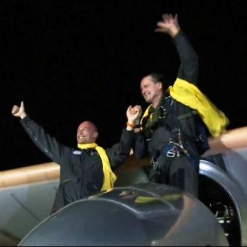 Image: Solar Impulse landing