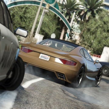 """Rockstar Games on Tuesday released the first gameplay trailer for its highly anticipated """"Grand Theft Auto V."""""""