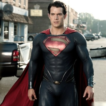 """""""Man of Steel"""" features Henry Cavill as Superman."""
