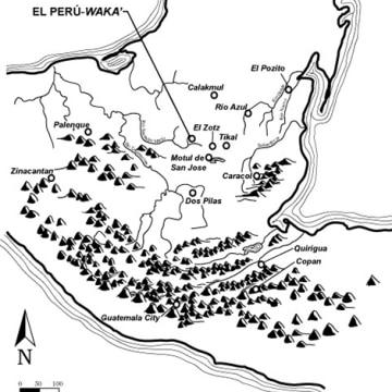 Image: Map of the Maya world